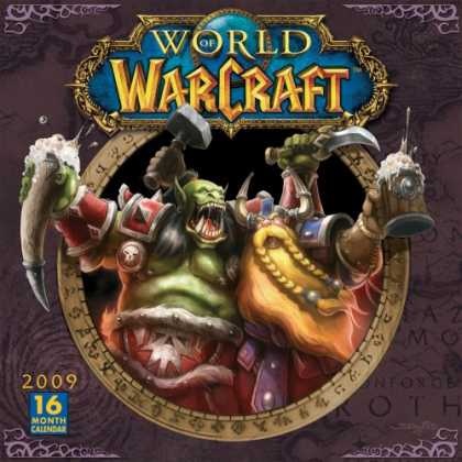 Bestselling Sci-Fi/ Fantasy (2008) - World of Warcraft 2009 Wall Calendar (Calendar) by Blizzard Entertainment