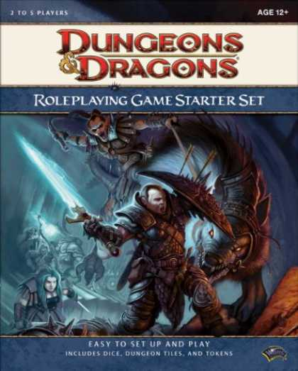 Bestselling Sci-Fi/ Fantasy (2008) - Dungeons & Dragons Roleplaying Game Starter Set (D&D Introductory Game)
