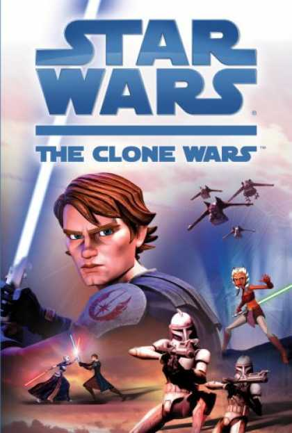 Bestselling Sci-Fi/ Fantasy (2008) - Star Wars: The Clone Wars by Tracey West