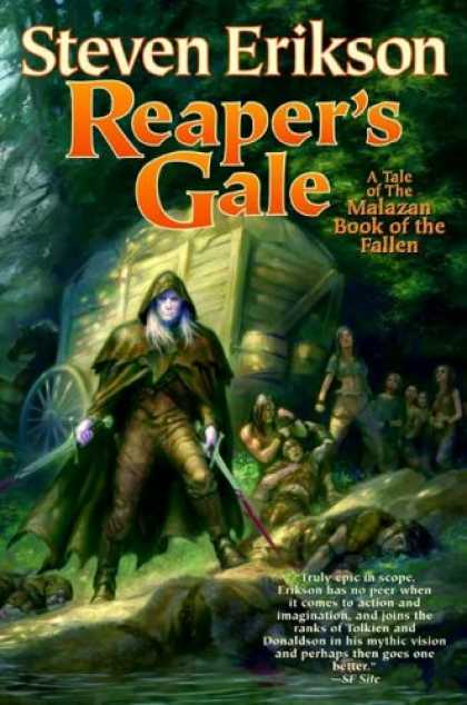 Bestselling Sci-Fi/ Fantasy (2008) - Reaper's Gale: Book Seven of The Malazan Book of the Fallen by Steven Erikson