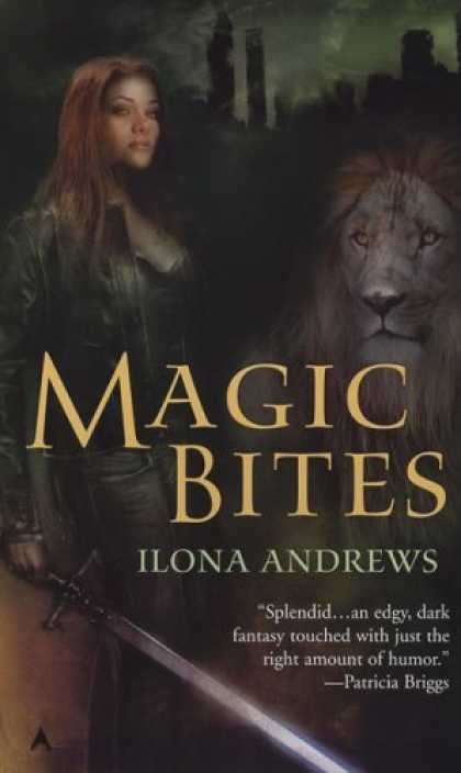 Bestselling Sci-Fi/ Fantasy (2008) - Magic Bites (Kate Daniels, Book 1) by Ilona Andrews