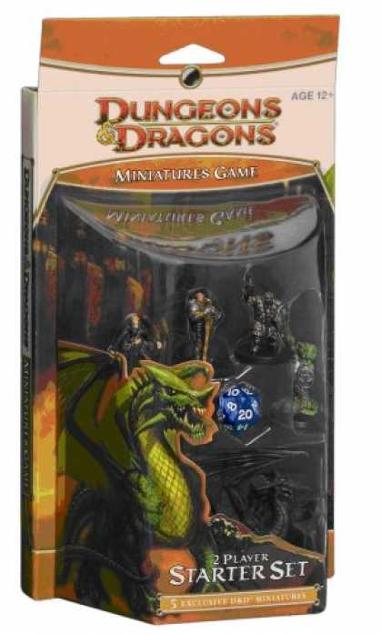 Bestselling Sci-Fi/ Fantasy (2008) - D&D Miniatures Game Starter (D&D Miniatures Product)