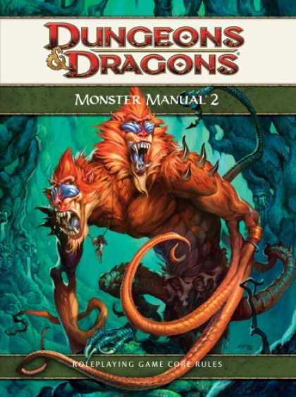 Bestselling Sci-Fi/ Fantasy (2008) - Monster Manual 2: A 4th Edition D&D Core Rulebook (D&D Supplement) by Wizards RP