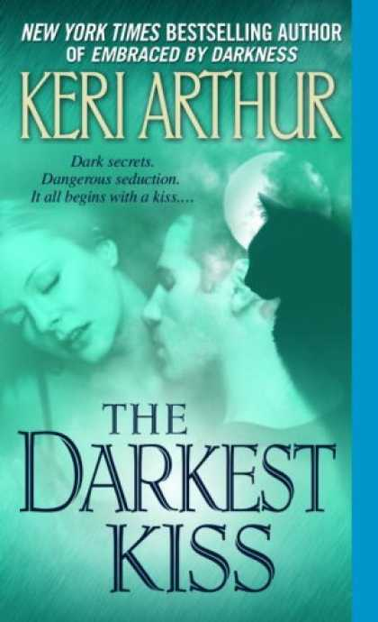 Bestselling Sci-Fi/ Fantasy (2008) - The Darkest Kiss (Riley Jensen, Guardian, Book 6) by Keri Arthur