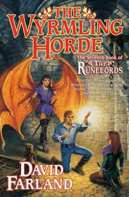 Bestselling Sci-Fi/ Fantasy (2008) - The Wyrmling Horde: The Seventh Book of the Runelords by David Farland