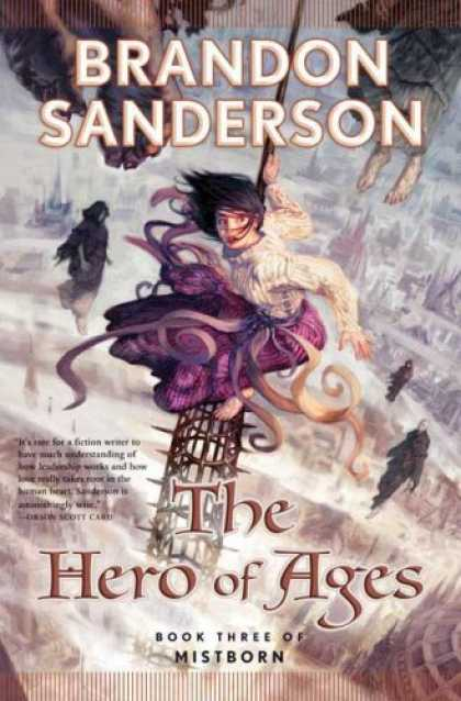 Bestselling Sci-Fi/ Fantasy (2008) - The Hero of Ages (Mistborn, Book 3) by Brandon Sanderson