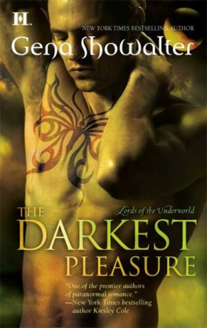 Bestselling Sci-Fi/ Fantasy (2008) - The Darkest Pleasure (Lords of the Underworld, Book 3) by Gena Showalter