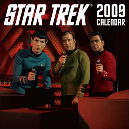 Bestselling Sci-Fi/ Fantasy (2008) - Star Trek: 2009 Wall Calendar by LLC Andrews McMeel Publishing