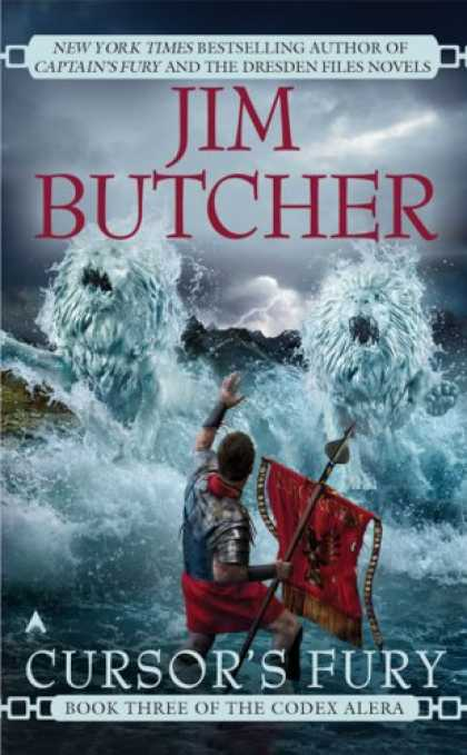 Bestselling Sci-Fi/ Fantasy (2008) - Cursor's Fury (Codex Alera, Book 3) by Jim Butcher