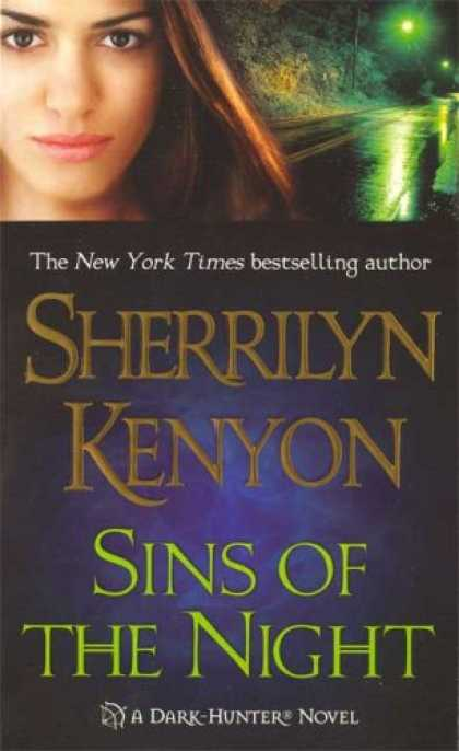 Bestselling Sci-Fi/ Fantasy (2008) - Sins of the Night (Dark-Hunter, Book 8) by Sherrilyn Kenyon