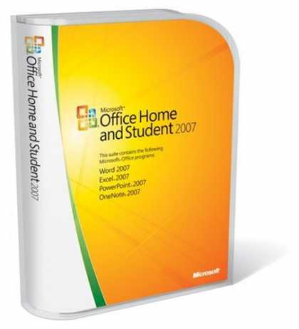 Bestselling Software (2008) - Microsoft Office Home and Student 2007