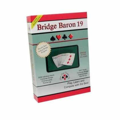 Bestselling Software (2008) - Bridge Baron 19 By Great Games - Windows and Macintosh