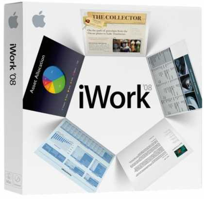 Bestselling Software (2008) - Apple iWork '08 Family Pack [OLD VERSION]