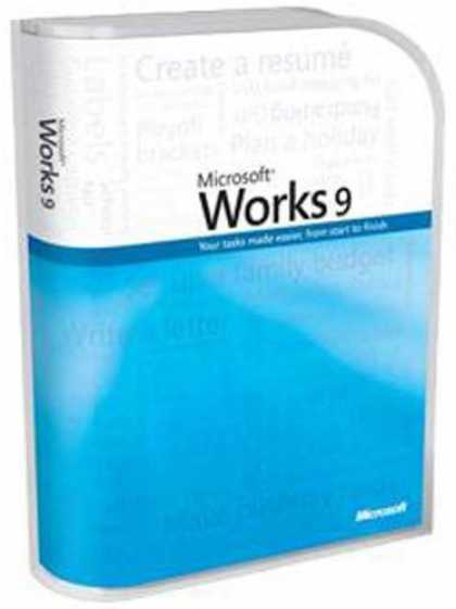 Bestselling Software (2008) - Microsoft Works 9.0