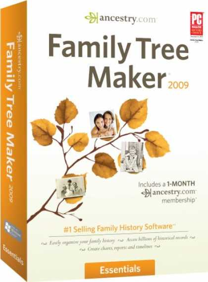 Bestselling Software (2008) - Family Tree Maker 2009 Essentials