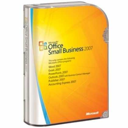 Bestselling Software (2008) - Microsoft Office Small Business 2007 FULL VERSION