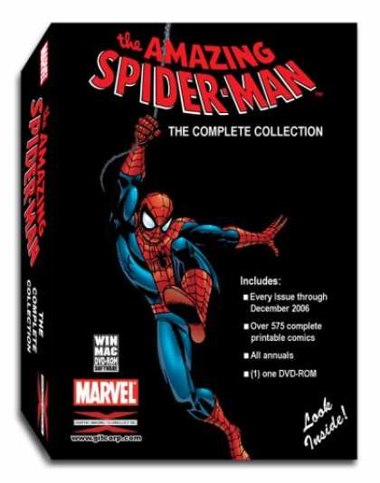 Bestselling Software (2008) - Amazing Spider-Man Complete Comic Book Collection Win/Mac
