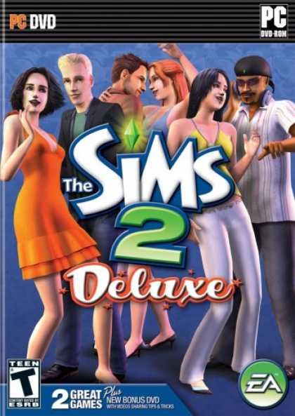 Bestselling Software (2008) - The Sims 2 Deluxe (Sims 2 and Sims Nightlife Expansion)