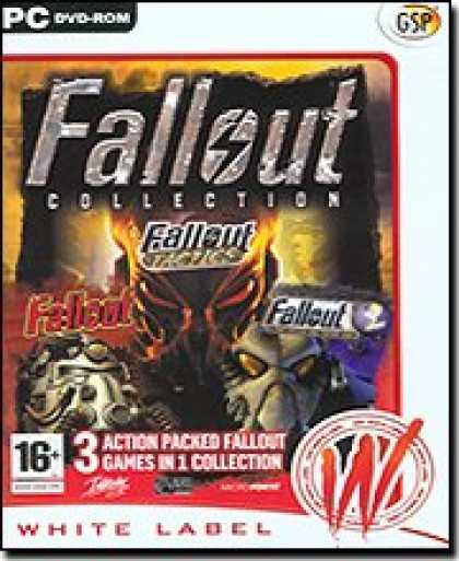 Bestselling Software (2008) - Fallout Collection (Fallout, Fallout Tactics, Fallout A Post Nuclear RPG)