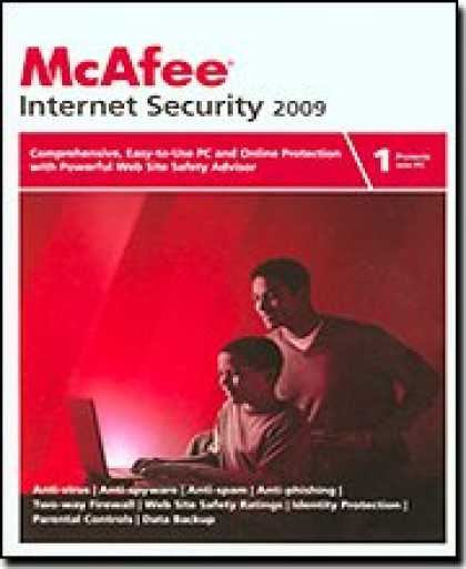 Bestselling Software (2008) - McAfee Internet Security 2009 1-User