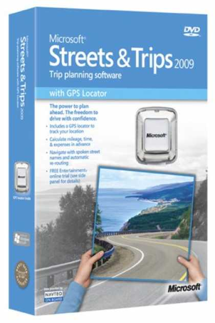 Bestselling Software (2008) - Microsoft Streets & Trips 2009 with GPS