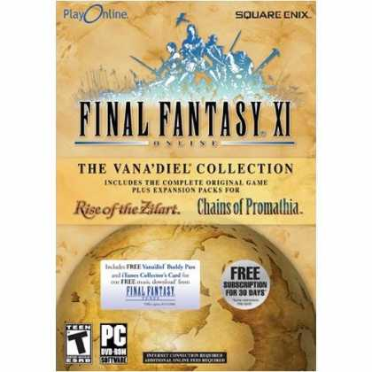 Bestselling Software (2008) - Final Fantasy XI Vana'diel Collection 2008
