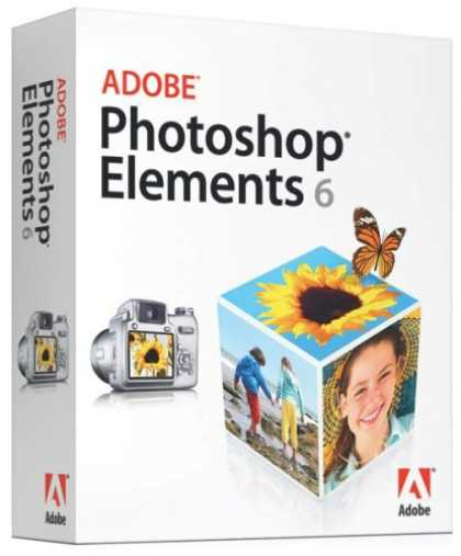 Bestselling Software (2008) - Adobe Photoshop Elements 6 (Mac)