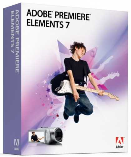 Bestselling Software (2008) - Adobe Premiere Elements 7