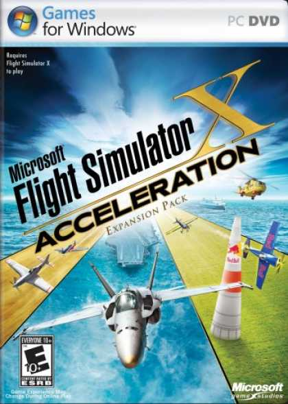 Bestselling Software (2008) - Microsoft Flight Simulator X Acceleration Expansion