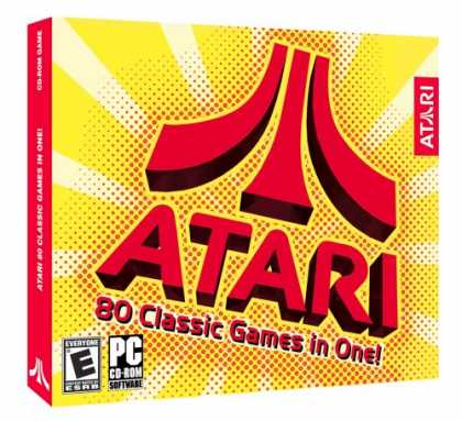 Bestselling Software (2008) - Atari: The 80 Classic Games in One (Jewel Case)