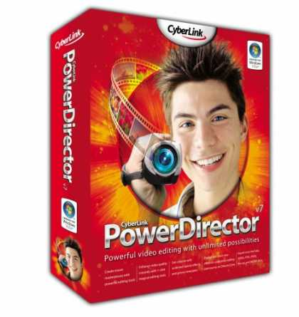 Bestselling Software (2008) - PowerDirector7 Deluxe (Amazon Christmas Exclusive)