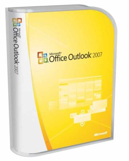 Bestselling Software (2008) - Microsoft Outlook 2007