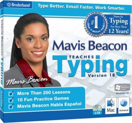 Bestselling Software (2008) - Mavis Beacon Teaches Typing 18