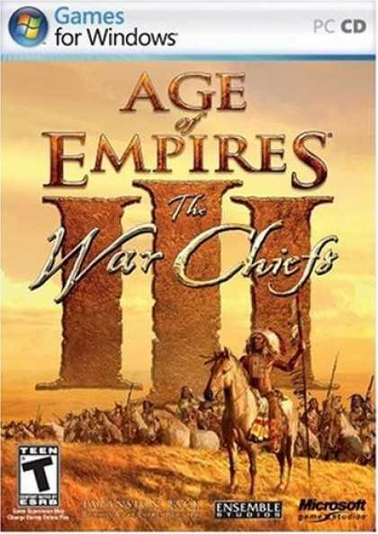 Bestselling Software (2008) - Age of Empires III: The WarChiefs Expansion Pack