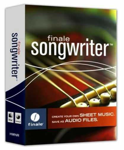 Bestselling Software (2008) - Finale Songwriter 2007
