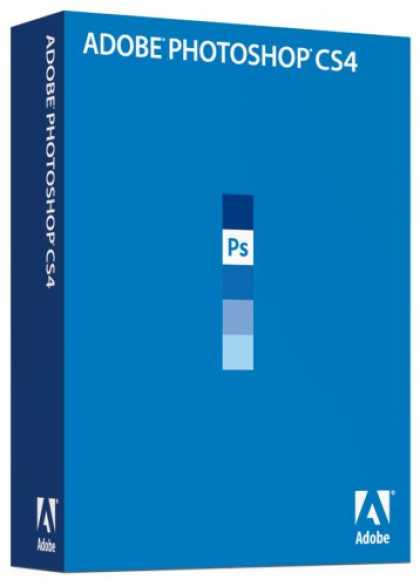 Bestselling Software (2008) - Adobe Photoshop CS4 Upgrade [Mac]