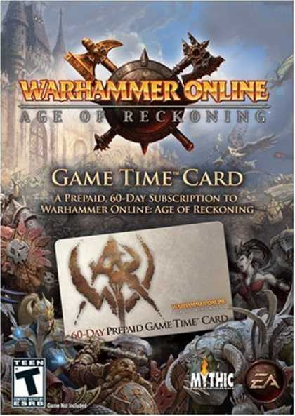 Bestselling Software (2008) - Warhammer Online 60 Day Prepaid Game Time Card