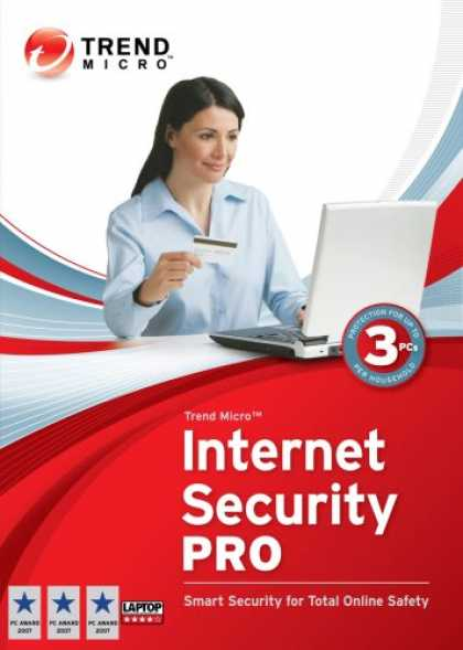 Bestselling Software (2008) - Trend Micro Internet Security Pro