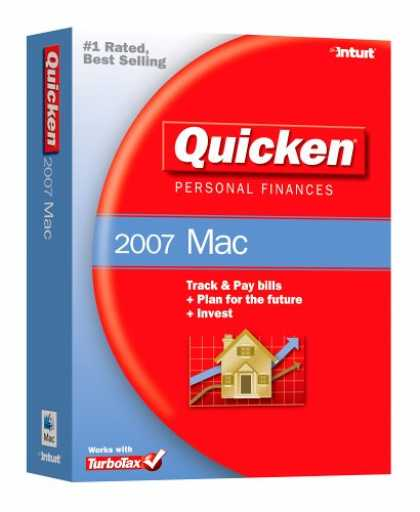 Bestselling Software (2008) - Quicken Personal Finances 2007 for Mac