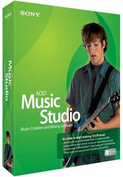 Bestselling Software (2008) - ACID Music Studio 7