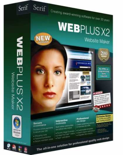 Bestselling Software (2008) - WebPlus X2 Website Maker