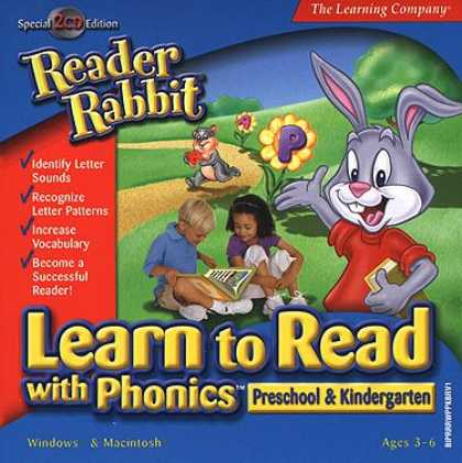 Bestselling Software (2008) - Reader Rabbit Learn to Read Phonics Preschool - Kindergarten (Jewel Case)