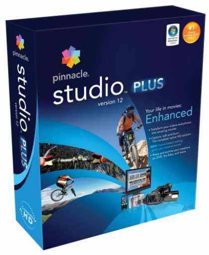 Bestselling Software (2008) - Pinnacle Studio Plus Version 12