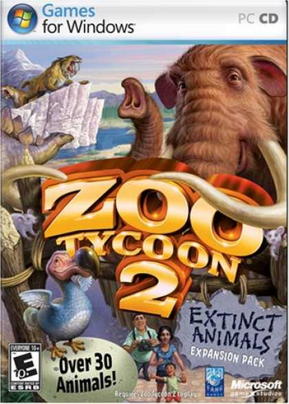 Bestselling Software (2008) - Zoo Tycoon 2 Extinct Animals Expansion Pack