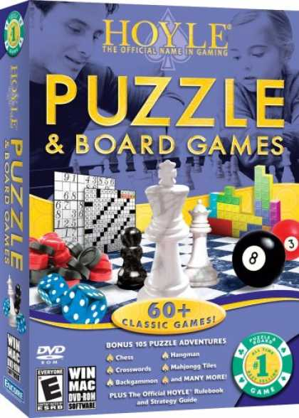 Bestselling Software (2008) - Hoyle Puzzle & Board Games 2008 [OLD VERSION]