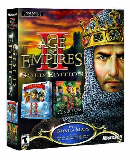 Bestselling Software (2008) - Age of Empires II, Gold Edition