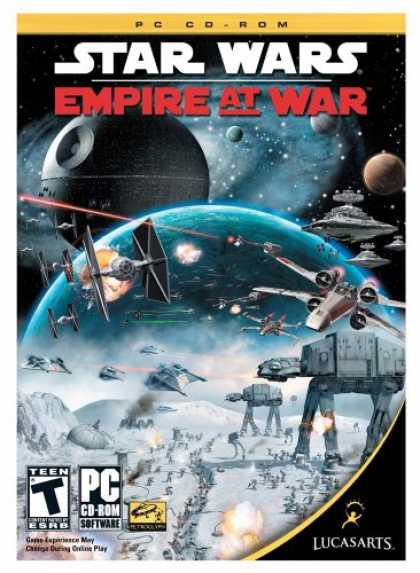 Bestselling Software (2008) - Star Wars Empire At War Gold Pack (PC DVD)