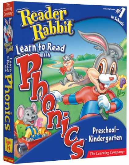 Bestselling Software (2008) - Reader Rabbit Learn to Read With Phonics