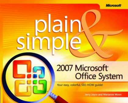 Bestselling Software (2008) - 2007 Microsoft® Office System Plain & Simple (Plain & Simple Series)