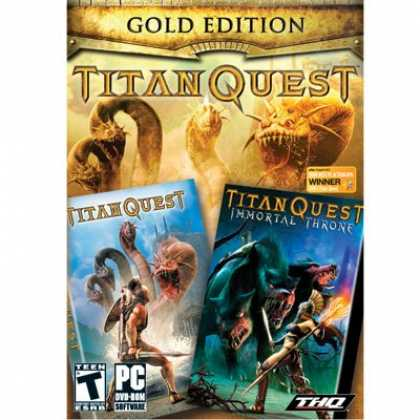 Bestselling Software (2008) - Titan Quest Gold (Titan Quest and Titan Quest Immortal Throne)